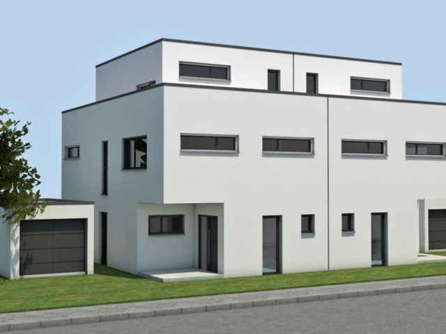 Moers–Hochstraß, house on penthouse level with 350 square meters on the south side